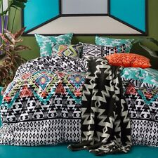 Kas Azaki quilt cover set multi queen BNIB . RRP $250.00
