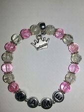 Personalizzato Princess Charm Perline Braccialetto Ragazza Regalo Di Compleanno Party Bags