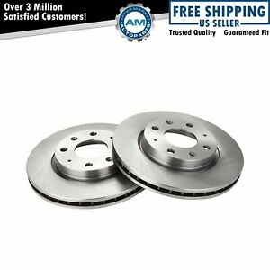 Front Disc Brake Rotors Left & Right Pair For Kia Spectra Spectra5