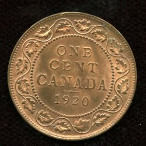 1920 Canada One Large Cent