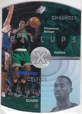 1997-98 UPPER DECK SPx ROOKIE CARD: CHAUNCEY BILLUPS #3 BOSTON CELTICS RC/ESPN