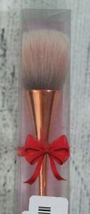 "Womens Cosmetic Brush Blush Makeup Brush Rose Gold Handle 7.5"" NEW"