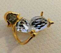 Swarovski Crystal Memories Moon Child Angel Brooch Pin