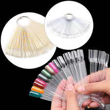 Espositore Display 50 Tips Posti Nail Art Decorazione Unghie Colori Gel Smalto