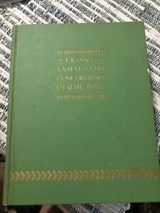 ~Strong's Exhaustive Concordance of the Bible 37th printing 1978~Nice Condition