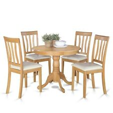 5 Pc Kitchen Table Set-Small Kitchen Table Plus 4 Dining Room Chairs NEW