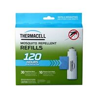 Thermacell R-10 Mosquito Repeller Refill 120 Hour Mega Pack 30 Repellent Mats