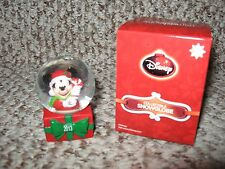 JC Penney 2013 Disney Mickey Mouse Black Friday Mini Snow Globe NIB