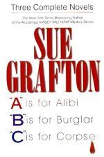 Sue Grafton - 3 Complete Novels - A, B & C - HC w/DJ 1999