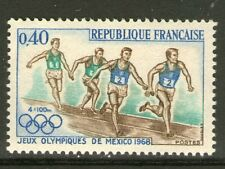 TIMBRE 1573 NEUF XX LUXE- JEUX OLYMPIQUES DE MEXICO - COURSE A PIED