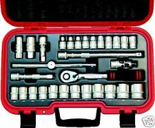 "KENNEDY KEN5827991K METRIC SOCKET SET(30-PCE) 1/2""SQ DR"