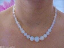 Versilberte Halsketten und Anhänger mit echten Edelsteinen für besondere Anlässe
