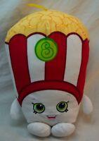 "Shopkins POPPY CORN POPCORN CHARACTER 11"" Pillow Plush STUFFED ANIMAL Toy"