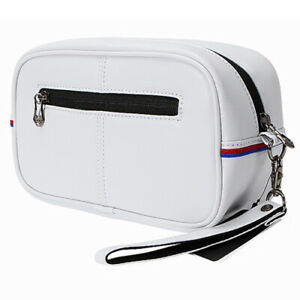 TaylorMade Auth Tech Accessory Pouch Case Golf Sports Bag (White)