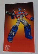 G1 Transformers Optimus Prime vs Megatron Laser Ax Battle Poster 11x17 FREESHIP