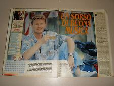 RON articolo clipping foto fotografia photo 1990 AT67 ROSALINO CELLAMARE