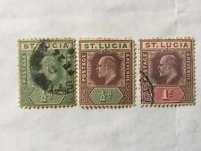 St Lucia Old Stamps Lot 3