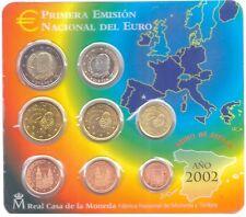 manueduc  ESPAÑA 2002  BLISTER OFICIAL FNMT EUROSET  NUEVO