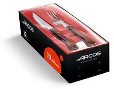 Juego de Chuleteros 6 piezas (tenedor Cuchillo) arcos