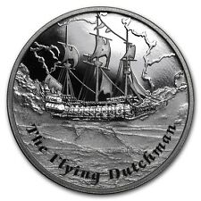 1 $ Dollar Flying Dutchman  Famous Ships  Never Sailed Tuvalu 1 oz Silber 2013