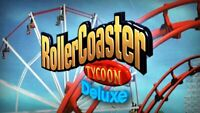 Rollercoaster Tycoon: Deluxe.  STEAM CD-KEY - PC - FAST DELIVERY 🚚