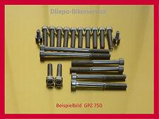 KAWASAKI GPZ 750 / GPX 750 / Z 750  V2A Edelstahl Schrauben Motorschrauben