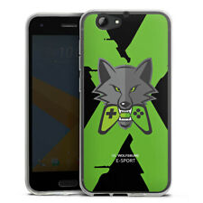 HTC One A9 s Silikon Hülle Case HandyHülle - VfL Wolfsburg X eSport