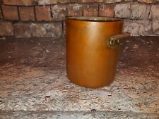 Antique Old Solid Copper Stock Stew Soup Pot Pan Champagne Ice Bucket Wine