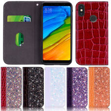Glitter Wallet Leather Flip Case Cover For Xiaomi Redmi Note 8T Note 8 K20 8A 7A