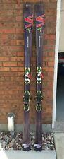 Salomon Scrambler HOT Spaceframe Skis 182cm | Salomon S912 Light Pilot Bindings