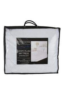 Hotel Collection Luxury 4 cm Plush Like Down Mattress Topper Double 137 x 193 cm
