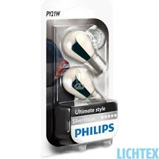 Py21w Philips silvervision-Ultimate style faros lámpara Duo-Pack