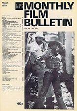 JANE FONDAMonthly Film BulletinMar1979