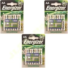 12 AA Energizer Rechargeable 2000 mAh NI-MH Batteries 2000mAh HIGH CAPACITY NiMh