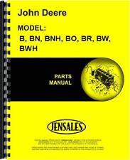 John Deere B Bn Bnh Bo Br Bw Bwh Sn# 1000-59999 Tractor Parts Manual