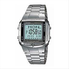 Orologio Casio Digitale Multifunzione Unisex DB-360-1ADF Argentato Sveglia Crono