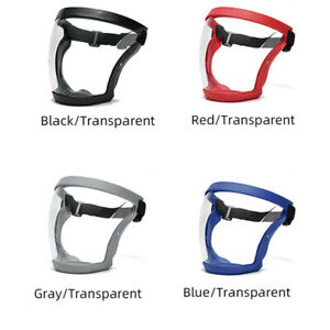 Active Shield Full Face Mask Cycling Sports Transparent Shield Safety Protective