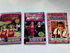 THE NEW ADVENTURES OF MARY KATE & ASHLEY Full House Michelle Lot Of 3 Books