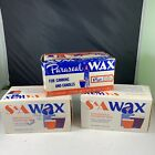 S&A Wax Household Paraffin Wax For Canning And Candlemaking 2 Boxes