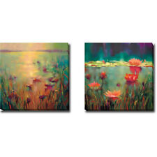 Morning & Nightfall by Donna Young 2-pc Gallery-Wrapped Canvas Giclee Art Set
