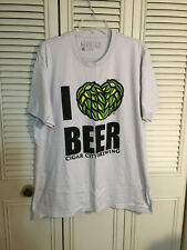 Cigar City Brewing Size XL T-Shirt I Love Beer Brewery  Tampa, FL