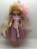 Vintage Lady Lovely Locks Ballerina And Pixietail