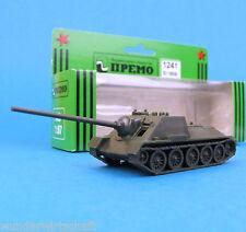 Premo Minitanks H0 1241 JAGD-PANZER SU 100/45 WWII Rote Armee HO 1:87 OVP Roco