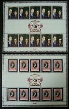 The Diamond Jubilee Queen Elizabeth II Royal Visit Malaysia 2012 (sheetlet) MNH
