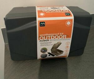 Weatherproof Outdoor Power Kit IP54