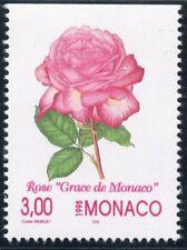 TIMBRE DE MONACO N° 2014 ** FLORE / FLEUR / PEINTURE DE COLETTE / ROSE