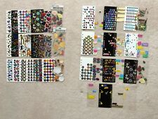 Lot of NEW Scrapbooking Sticker Sheets (Full Sheets & Half Used Sheets)