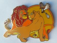 PINS DISNEY FANTASY PIN SIMBA AND NALA ZAZU ADULT LION KING