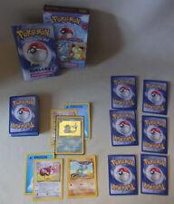 Vtg 90s Pokemon Sammelkarten Spiel TCG WASSERSCHWALL Themendeck Wasser / Kampf