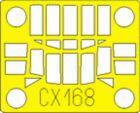 Eduard 1/72 An-2 Colt paint mask for Trumpeter # CX168